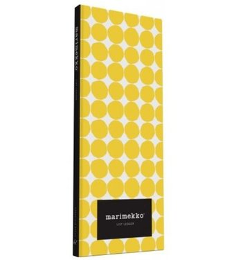 Marimekko Marimekko List Ledger Folder with 4 notebooks with pencil