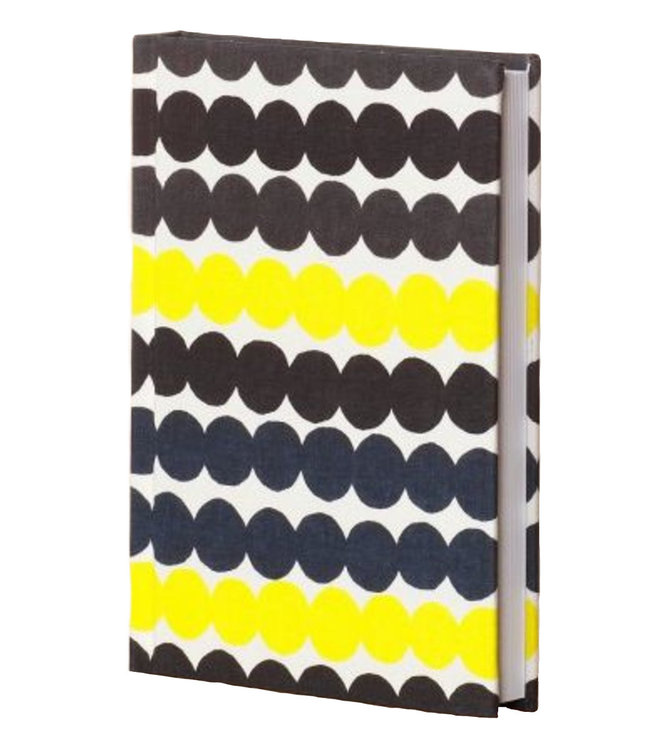 Marimekko Marimekko Notebook with textile cover with Räsymatto design