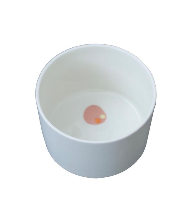Lars Rank Keramik Lars Rank Keramik Handgemaakt Bowl Dots Salmon 2,5dl
