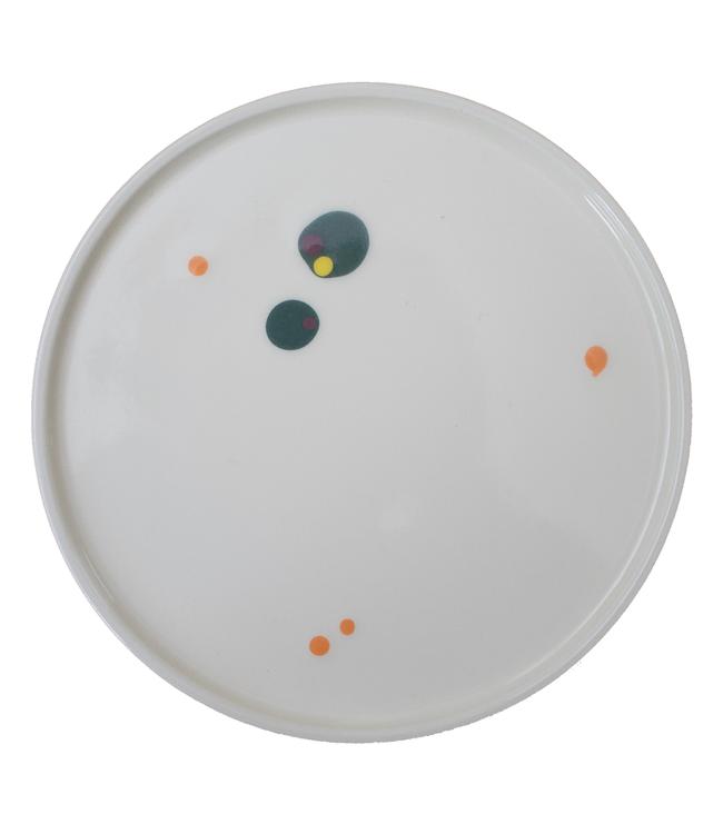 Lars Rank Keramik Lars Rank Keramik Handmade Plate Green Ø 20cm