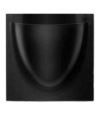 Verti Copenhagen VertiPlants BIO Wall Jar Black 30x30cm