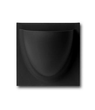 Verti Copenhagen VertiPlants BIO Wall Jar Mini 15x15cm Black