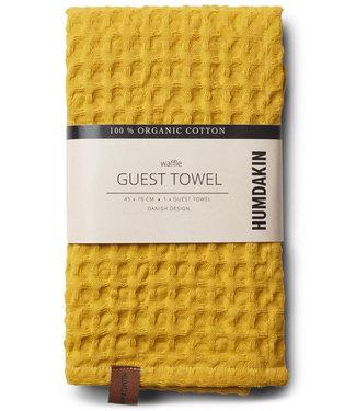 Humdakin Humdakin Wafel Handdoek Yellow Fall