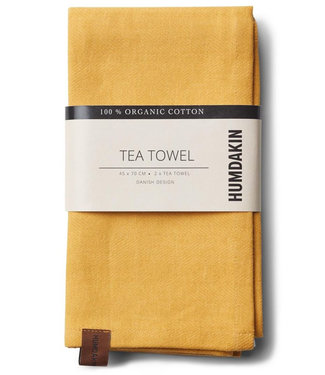 Humdakin Humdakin Tea Towel Yellow Fall Set of 2