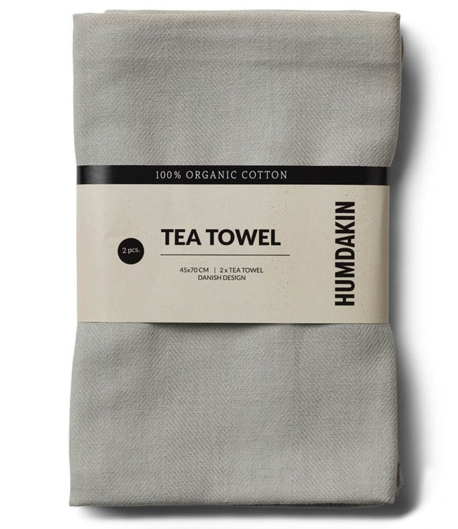 Humdakin Humdakin Tea Towel Stone Set of 2