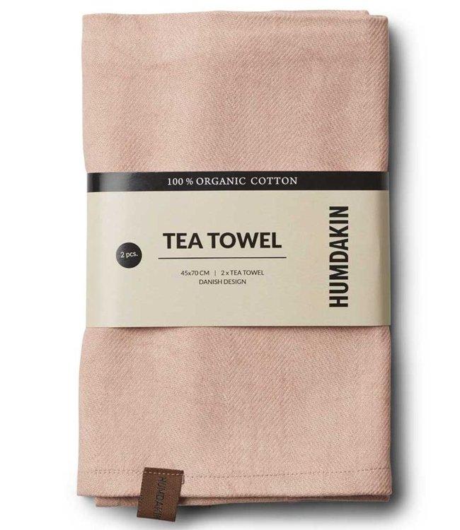 Humdakin Humdakin Tea Towel Clay  Set of 2