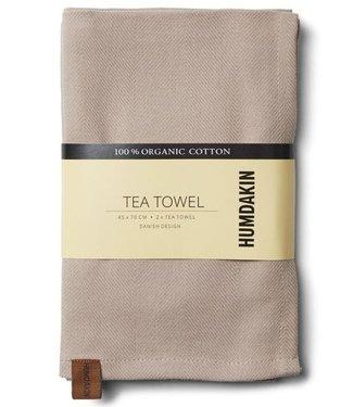 Humdakin Humdakin Tea Towel Light Stone Set of 2
