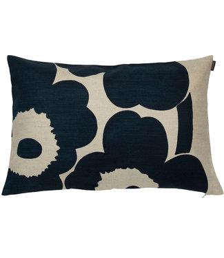 Marimekko Marimekko Unikko cushion cover dark blue 40x60cm