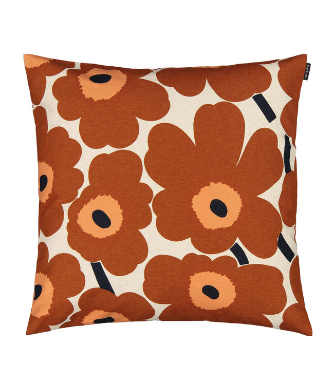 Marimekko Marimekko Pieni Unikko cushion cover chestnut 50x50cm