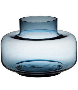 Marimekko Marimekko Urna Vaas Glas 30cm Blauw