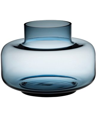 Marimekko Marimekko Urna Vase Glass 30cm Blue