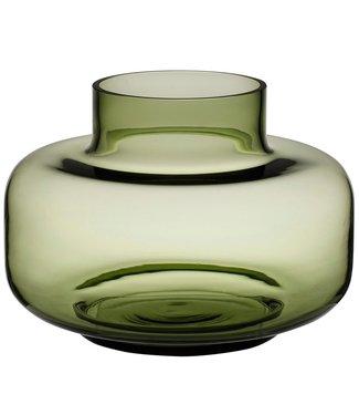 Marimekko Marimekko Urna Vase Glass 30cm Olive