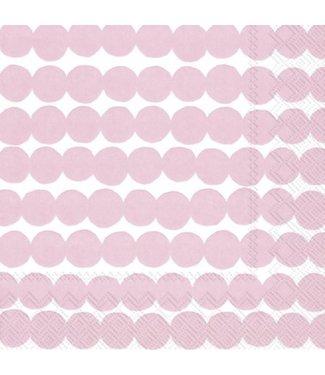 Marimekko Marimekko Räsymatto Paper Napkin 33x33cm Pink