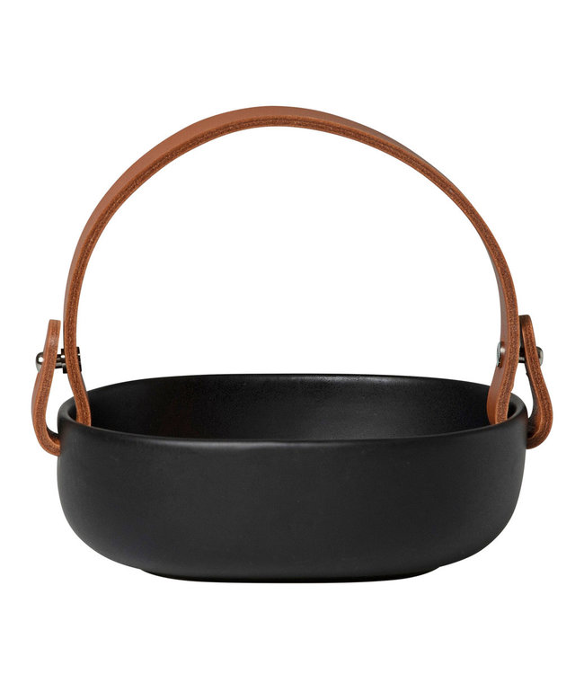 Marimekko Marimekko Oiva Koppa Serving dish with leather handle