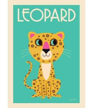 OMM Design OMM Design Poster Leopard 50x70cm