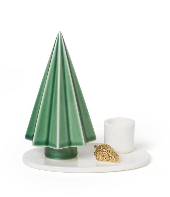 Dottir Dottir Winter Stories Tree Candlestick