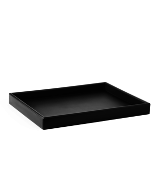 SEJ Design SEJ Design Tray zwart 24x33x3cm past A4 formaat in