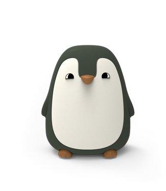 Liewood Liewood Nachtlampje Pinguïn Donkergroen