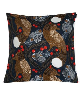 Marimekko Marimekko Ketunmarja cushion cover Dark blue 50x50cm