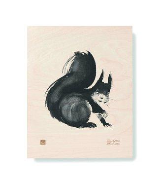 Teemu Järvi  Teemu Järvi Multiplex Poster Eekhoorn 24 x 30 cm