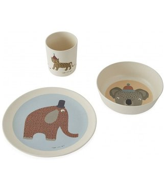OYOY OYOY living design Bamboo Hathi Children's Dinner Set