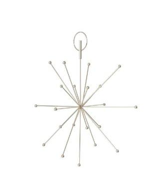 OYOY OYOY Kerstboom piek - Ornament mat Zilver