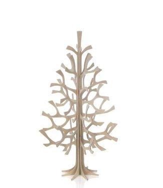 LOVI Lovi Spruce Birch plywood Tree 25cm 3D-tree DIY package
