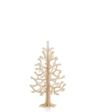 LOVI Lovi Spruce Birch plywood Tree 14cm 3D-tree DIY package