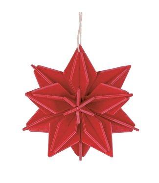 LOVI Lovi Star birchwood Red DIY package - 2 sizes