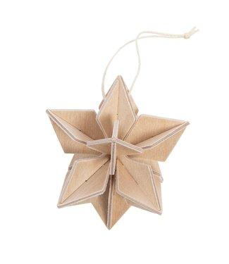 LOVI Lovi Star birchwood natural 5cm DIY package