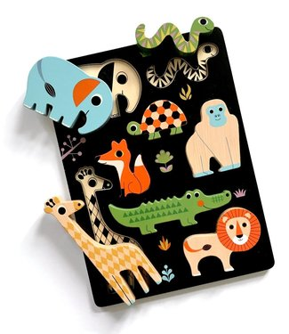 OMM Design OMM Design Wooden Animal Puzzle