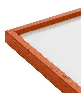 Paper Collective  50 x 70 cm Oranje  Lijst