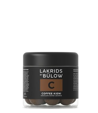 Lakrids by Bülow LAKRIDS BY BÜLOW - Lakrids C Coffee Kieni - Small 125g - Chocolate coated liquorice