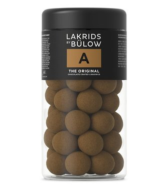 Lakrids by Bülow LAKRIDS BY BÜLOW - Lakrids A the Original - Regular 295g - Chocolate coated liquorice