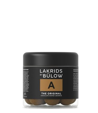 Lakrids by Bülow LAKRIDS BY BÜLOW - Lakrids A the Original - Small 125g - Chocolate coated liquorice