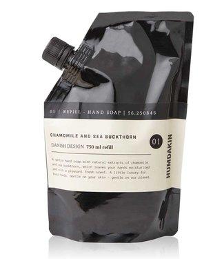 Humdakin Humdakin Refill Handzeep met Duindoorn en Kamille 750 ml