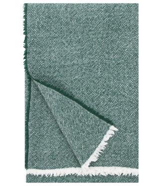 Lapuan Kankurit Lapuan Kankurit Sara Wool plaid 140x180  Spruce green