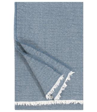 Lapuan Kankurit Lapuan Kankurit Sara Wool plaid 140x180  Rainy blue