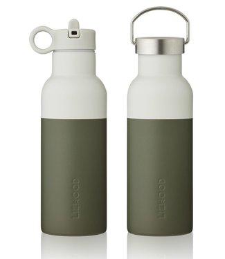 Liewood Liewood NEO Waterfles Drinkfles 500ml donkergroen grijsgroen