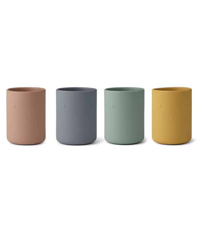 Liewood Liewood Ethan Silicone Cups  Set of 4