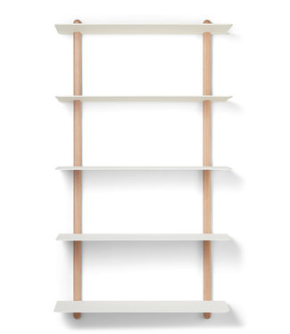Gejst Gejst NIVO E Large wall shelf light oak white