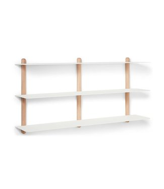 Gejst Gejst NIVO D Large wall shelf Light Oak white