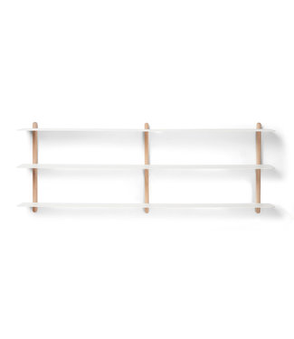 Gejst Gejst NIVO D wall shelf  Light Oak white