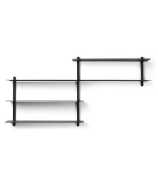 Gejst Gejst NIVO B wall shelf black