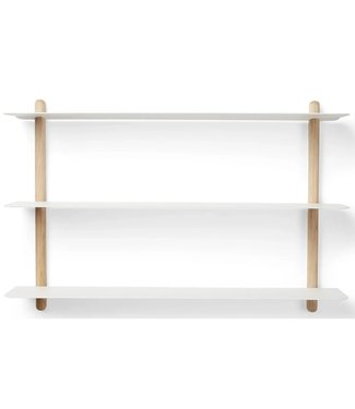 Gejst Gejst NIVO A wall shelf Light oak white