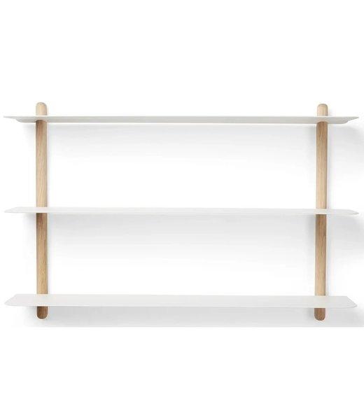 Gejst NIVO A wall shelf Light oak white