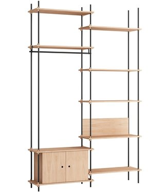 Moebe Moebe Shelving system S.255.2.G  (different colours)
