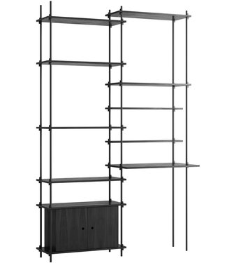 Moebe Moebe Shelving system S.255.2.F (different colours)