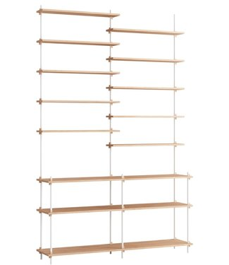Moebe Moebe Shelving system S.255.2.D  (different colours)