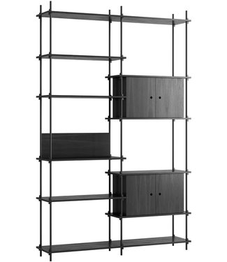 Moebe Moebe Shelving system S.255.2.C  (different colours)
